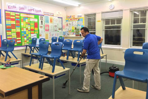 School Cleaning Canberra